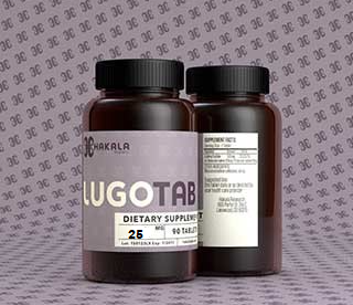 LugoTab 25 mg - 90 Tablets