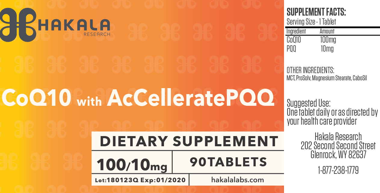 CoQ10 + AcCellerate PQQ - 90 tablets