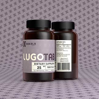 LugoTab 25 mg - 180 Tablets
