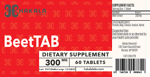BeetTab - 60 tablets
