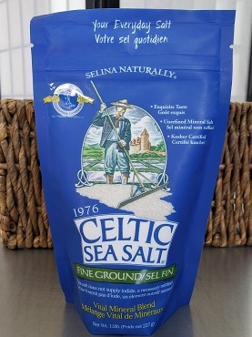 Celtic Sea Salt - Fine Ground - 1/2 lb