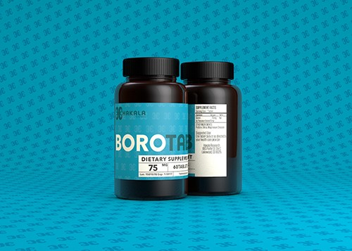 BoroTab 75 mg - 60 Tablets