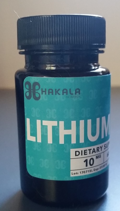 Lithium Orotate 10 mg - 60 Tablets